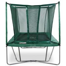 Pro-Line firkantet trampolin med sikkerhedsnet