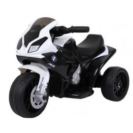 BMW S1000 motorcykel 6V med lædersæde - Sort