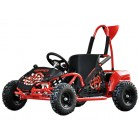 GOKART MINI EL BRUSHLESS 800W 48V SORT, MEGALEG