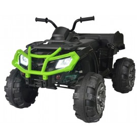 BLACK/GREEN ATV XL