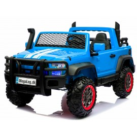 Super-BLUE SUV XL Elbil 4x4 12v