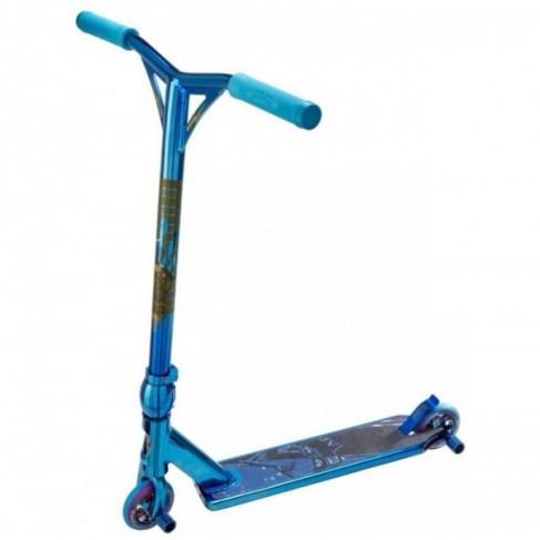 Team Dogz Blue Chrome PRO 4 Trick løbehjul
