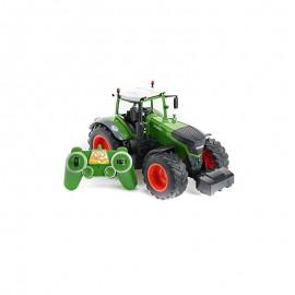 Stor fjernstyret traktor