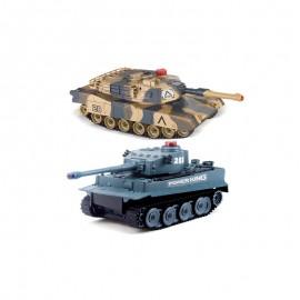 2 fjernstyrede kampvogne