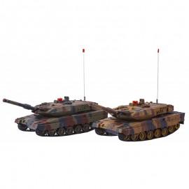 Fjernstyret kampvogns-sæt - 2 tanks