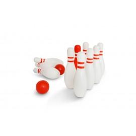 Bowlingsæt i træ - Buitenspeel