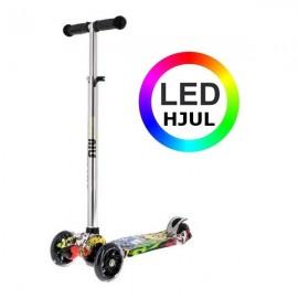 NILS Trehjulet Løbehjul m. LED