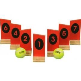 Kastespil med numrer - BS Toys