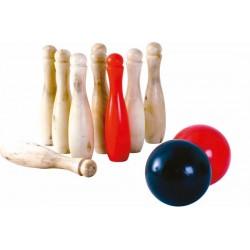 Træ Bowling - BS Toys