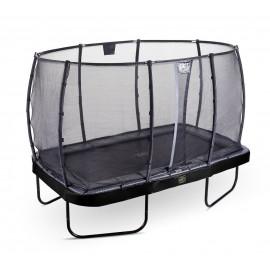 EXIT 'Elegant Premium' firkantet trampolin - Sort