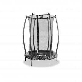 EXIT Tiggy Junior trampolin ø 140 cm (sort/grå)