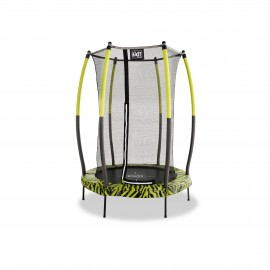 EXIT Tiggy Junior trampolin ø 140 cm (sort/grøn)