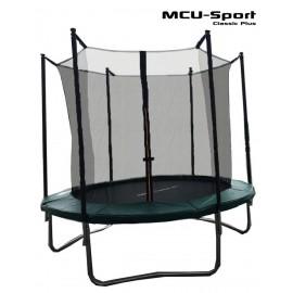 Classic Plus 2,44m trampolin m/ sikkerhedsnet - MCU sport