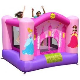 Hoppeborg med prinsessetema - HappyHop