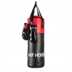 Boksesæk med handsker - My Hood