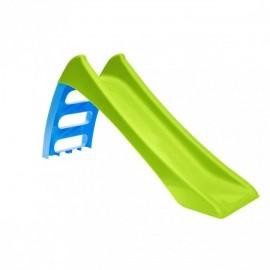 Rutsjebane i plast - 116 cm lang - grøn