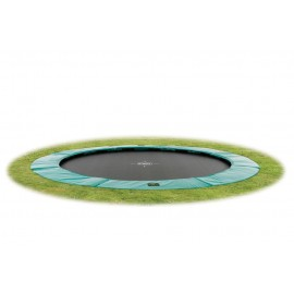 EXIT Supreme Ground Level Ø305cm - Grøn - rund trampolin til nedgravning