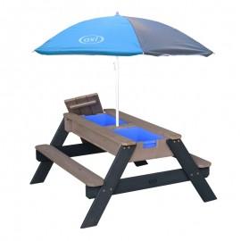 Nick Sand & vand picnicbord (AXI) - grå