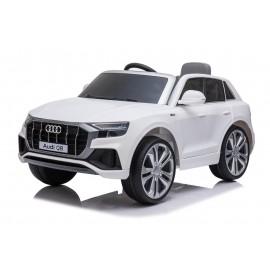 Audi Q8 12v elbil til børn m/ fjernbetjening, Hvid