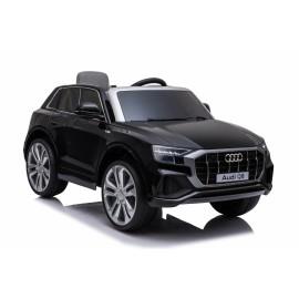 Audi Q8 12v elbil til børn m/ fjernbetjening, Sort