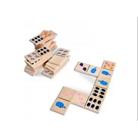 Domino med dyr - BS Toys