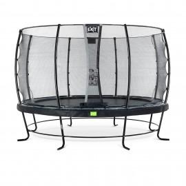 EXIT Elegant Premium trampolin med Deluxe sikkerhedsnet - Ø366cm