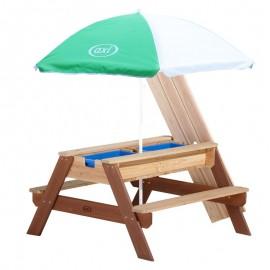 Nick Sand & vand picnicbord (AXI) - brun