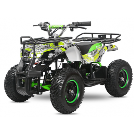 Torino EL-ATV 1000W Premium 48V, grøn/grå