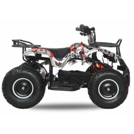 Torino EL-ATV 1000W Premium 48V, Rød/sort