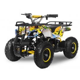Torino EL-ATV 1000W Premium 48V, Gul/blå