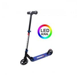 RASK 145 mm LED Løbehjul - blå