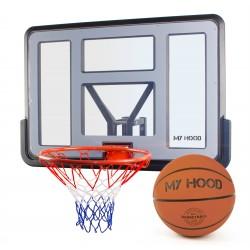 My Hood basketkurv Pro på plade - inkl. bold