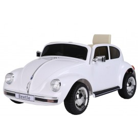 VW Beetle elbil 12v - hvid
