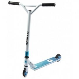 Apollo Genius Trick Løbehjul - hvid/blå