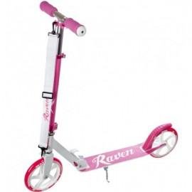 Raven 200 mm Laura løbehjul - Pink
