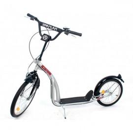 """20"""" Løbehjul med lufthjul - Silver"""