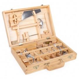 Værktøjskasse i træ