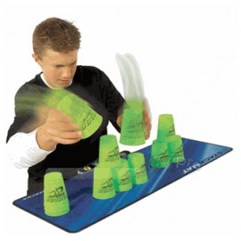 Speed Stacks - sæt med 12 kopper og tidstagningsmåtte