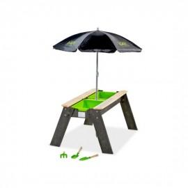 EXIT Aksent sand & vand bord med parasol og haveredskaber