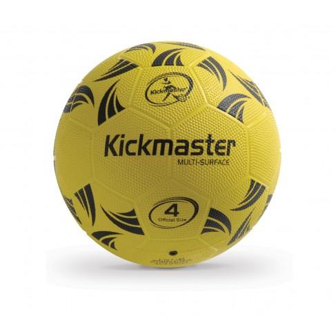 Fodbold Kickmaster Multi Surface Gummi str. 4