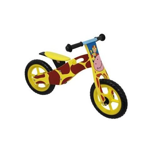 Løbecykel af træ - Giraf