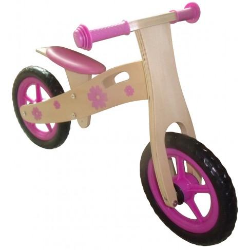 Pige Løbecykel af træ