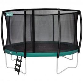 Etan Premium Deluxe trampolin med sikkerhedsnet - grøn