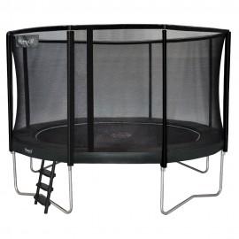 Etan Premium trampolin med sikkerhedsnet - grå