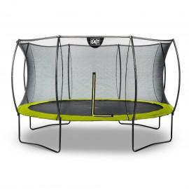 EXIT Silhouette trampolin ø366cm - limegrøn