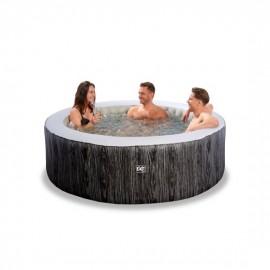 Wood Deluxe spa ø204x65cm - mørkegrå (EXIT)