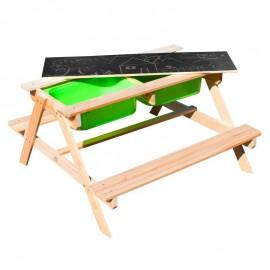 Sunny Dual Top 2.0 bord med grønne kasser