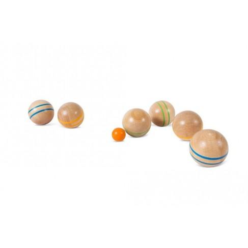 Petanque/boules i træ - BS Toys