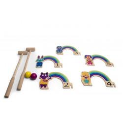 Kroket med regnbuer - BS Toys
