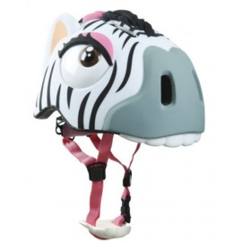 Zebra cykelhjelm fra CrazySafety